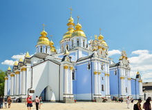 Saint Michael cathedral in Kyiv Stock Image