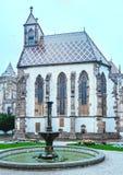 The Saint Michael Chapel  (Kosice, Slovakia). Royalty Free Stock Photos