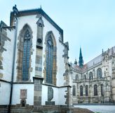 The Saint Michael Chapel and St. Elisabeth Cathedral (Kosice, Sl Stock Photography