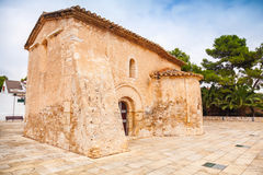 Saint Michael church in Calafell town, Spain Royalty Free Stock Photos