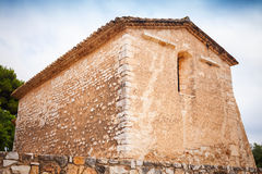 Saint Michael church in Calafell town, Spain Stock Image