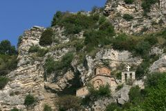 Saint Michael Church, City of Berat Stock Photo