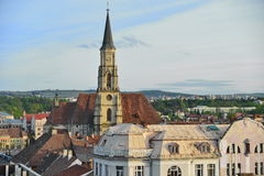 Saint Michael Church from Cluj-Napoca. Stock Photo