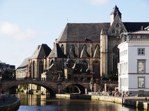 Saint Michael Church in Ghent, Belgium Royalty Free Stock Photo