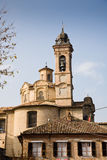 Saint Michael church, Neive, Italy Royalty Free Stock Photo