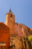 Saint Michael Church in Roussillon Stock Photos