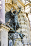 Saint Michael fountain , Paris, France Royalty Free Stock Images