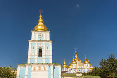 Saint Michael Gilded Russian Orthodox monastery -  Stock Photos