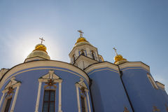 Saint Michael Gilded Russian Orthodox monastery -  Royalty Free Stock Image