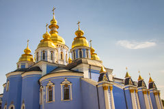 Saint Michael Gilded Russian Orthodox monastery -  Stock Photography