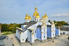 Saint Michael Goldentopped Cathedral in Kiev Royalty Free Stock Photography