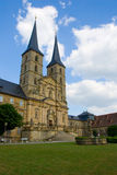 Saint Michael Monastery in Bamberg Stock Images