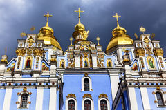 Saint Michael Monastery Cathedral Kiev Ukraine Stock Images