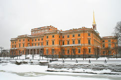 Saint Michael's Castle in Saint Petersburg Royalty Free Stock Photo