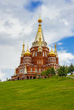Saint michael's cathedral in izhevsk Stock Image