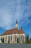 Saint Michael's Church, Cluj Napoca, Romania. Central square with Saint Michael's Church in Cluj Napoca, Romania Stock Photography