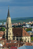 Saint Michael`s Church, Cluj, Romania Royalty Free Stock Images