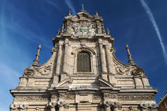 Saint Michael`s Church in Leuven Royalty Free Stock Images
