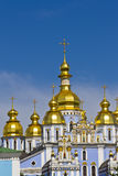 Saint Michael's Golden-Domed Cathedral, Kyiv Stock Photos