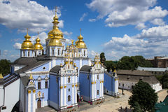Saint Michael`s Golden-Domed Cathedral in Kyiv Stock Photography