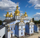 Saint Michael`s Golden-Domed Cathedral in Kyiv Royalty Free Stock Photos