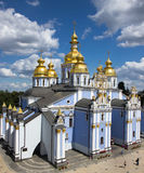 Saint Michael`s Golden-Domed Cathedral in Kyiv Stock Image