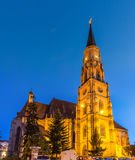 Saint Michael's Roman-Catholic Church in Cluj-Napoca Royalty Free Stock Photography