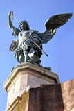 Saint Michael statue Stock Photography