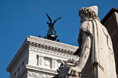 Saint Michael statue in Rome Royalty Free Stock Photography