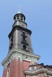 Saint Michaelis church in Hamburg Royalty Free Stock Photos