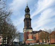 Saint Michaelis Church, Hamburg, Germany Royalty Free Stock Images