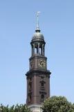 Saint Michaelis church of Hamburg Royalty Free Stock Photos