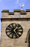 Saint Michaels church clock Royalty Free Stock Photos