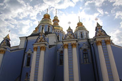 Saint Michaels Golden Domed Monastery Stock Photo