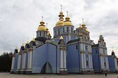 Saint Michaels Golden Domed Monastery Stock Image
