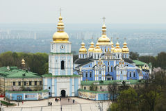 Saint Michail monastery (Kiev). Saint Michail monastery (Kiev, Ukraine royalty free stock photography