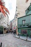 Saint Michel ćwiartka w Paryż Fotografia Royalty Free
