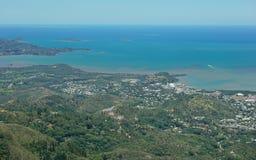 Saint-Michel aérien Noumea Nouvelle-Calédonie de Boulary Photographie stock