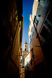 Saint-Michel Archange bazylika, Menton, Francja zdjęcie royalty free