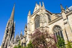 The Saint-Michel Basilica in Bordeaux, France Stock Photos