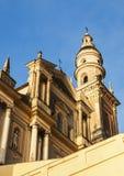 Saint Michel Basilica dans Menton Images stock