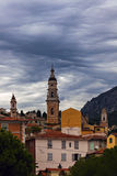 Saint Michel Basilica in Menton Royalty Free Stock Photo
