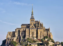 Saint Michel castle. Mont Saint Michel castle, Normandy, France Stock Photography