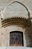 Saint Michel cathedral  door at Carcassonne Royalty Free Stock Photography