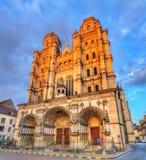 Saint Michel church in Dijon, France. Saint Michel church in Dijon - Cote d`Or, France stock photo