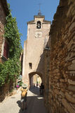 Saint-Michel church in Roussillon, France Royalty Free Stock Photography