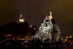 Le Puy En Velay, Francja Zdjęcia Royalty Free