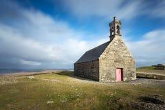 Saint Michel de chapelle sur le d'Arrée de Mont, la Bretagne, France Photographie stock libre de droits