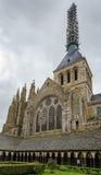 Saint-Michel de la Iglesia-abadía, Francia Imágenes de archivo libres de regalías