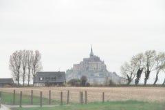 Saint Michel de Le Mont Imágenes de archivo libres de regalías